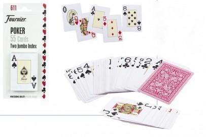 Cartas Fournier Poker 55 Piezas