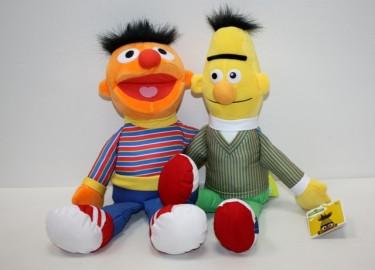 Sesame Street Epi y Blas 38 cm x 2