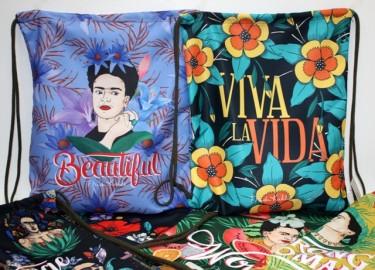 Frida Kalho Bolsa Mochila 52 cm x 6