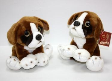 Peluche Adoptable Perro Boxer