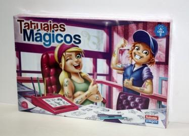 Juegos Falomir Tatuajes Niño 39 cm