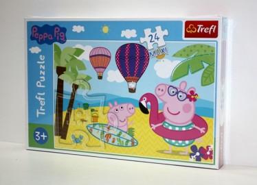 Trelf Puzzle Peppa Pig Maxi 24 Piezas