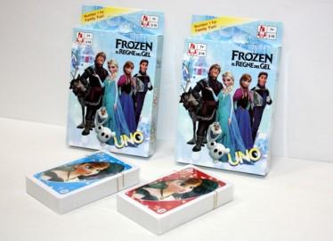 Uno Cartas Frozen 108 Cartas