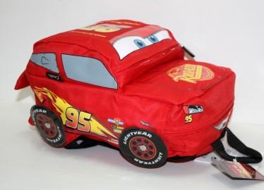 Mochila Relieve 3D Forma Cars 31cm