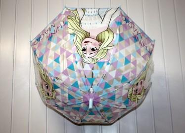 Paraguas Frozen II Transparente  48cm x 3