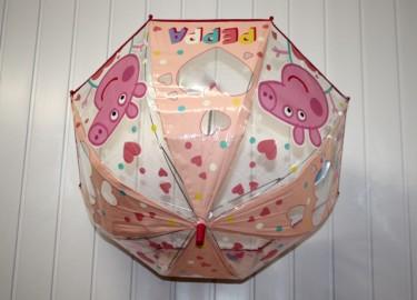 Paraguas Peppa Pig Transparente 48cm x 3