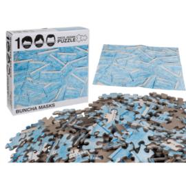 Puzzle Mascarillas 1000 Piezas
