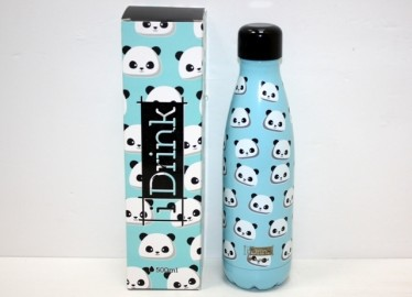 Botella I Drink Termo 500 Ml Panda