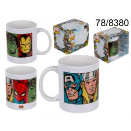 Taza Marvel Comics Caras