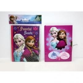 Frozen Diario Candado Med 13X18