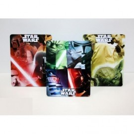 Star Wars Portafoto Metalico X 3