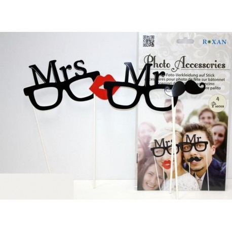 Accesorios Para Foto Mrs Mr X 2