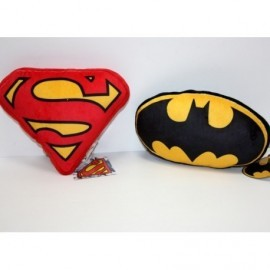 Batman Y Superman Cojin Logo X 2 22 Cms