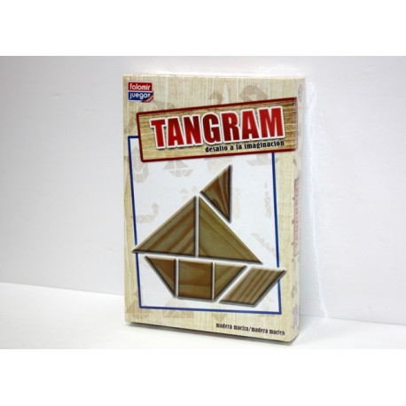 Juego Tangram Madera 25cm
