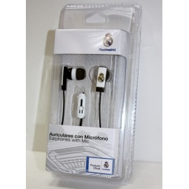Real Madrid Auricular Recto Micro