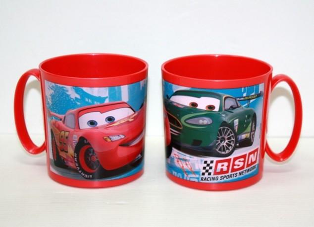 Cars Taza Microondas