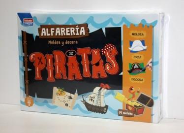 Juegos Falomir Alfarería Piratas 35cm