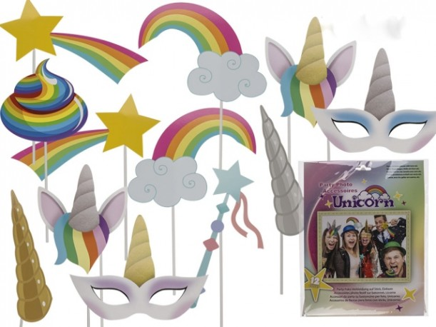 Unicornio Set 12 Accesorios  Photo