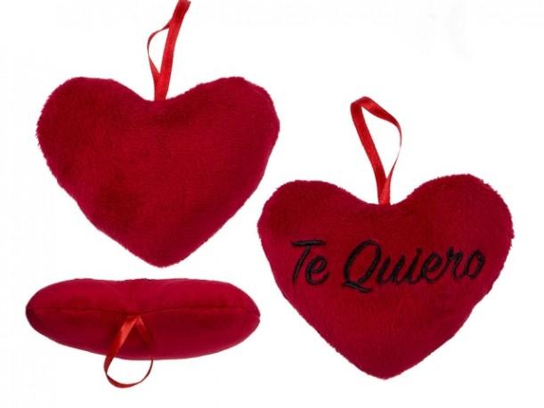 Corazón Peluche Te Quiero 10cm x 12